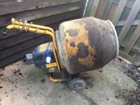 Belle mini mix 130 cement mixer with stand