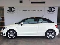 2011 Audi A1 1.4 TFSI S Line Style Edition 3dr Petrol white Manual