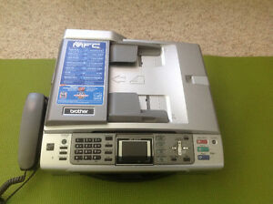 Fax machine/printer all in one