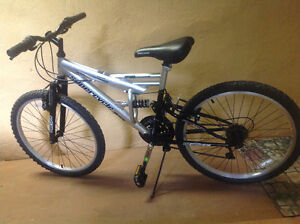 "Supercycle Vice 61cm (24"") Full Suspension Mountain Bike"