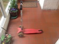 Very used micro scooter