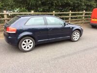 Audi A3 2004 model 1.6 fsi 3 door great spec looks drives great don't miss out 45 mpg