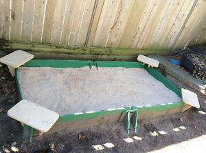 Kids Sandbox and Little Tikes Climber / Slide for Sale