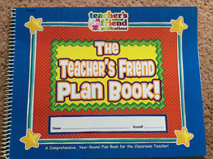 The Teacher's Friend Plan Book - 120 pgs
