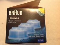 Braun shaver wash 2left in pack