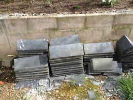 Reclaimed Grey Ridge Tiles - Approx 90deg angle - 30 plus Quantity Sold as Job lot
