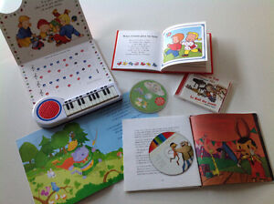 *** LOT INTERACTIF enfant! > PIANO / CD / LIVRES (8 items) ***