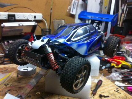 1/10 rc 4x4 buggy rolling chassis  Hallett Cove Marion Area Preview