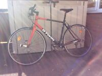 B twin men's road bike