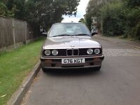 BMW 316i E30. 1989. 2 owners. 56,000 miles full service history