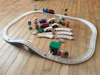 Thomas and Friends Wooden Train Track