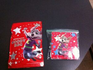 2 sets of chucky cheese bags