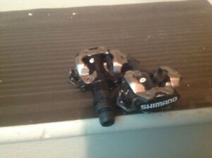 Shimano SPD clipless pedals