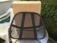 Chair BACK SUPPORT - Flexible & Adjustable for Various Chairs.