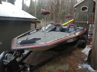 Astro Bass Boat and trailer
