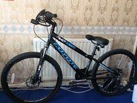 "26"" Twin Disc Brake Mountain Bike w/super soft air vent saddle"