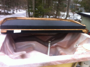 4 person hot tub new cover and pump great shape