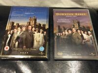 Downton Abbey series one & two - 7dvds Used