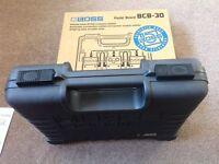 As new Boss BCB-30 pedal board