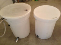 2 Rain Barrels $100 for both