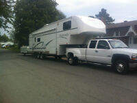 COMBO FIFTH WHEEL 35' ET CHEVROLET SILVERADO 3500