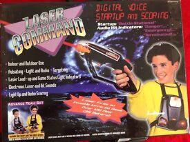 Laser command