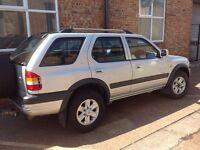 Vauxhall frontera 2003 diesel