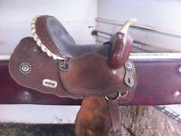 "13"" kids barrel saddle/ SOLD"