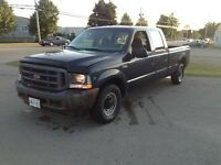 2002 Ford f 350 crewcab 2wd 5.4 (151kms)  July MVI runs like new
