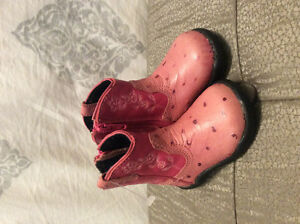 Roper leather boots -never worn! Infant Size 2