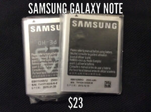 BRAND NEW SAMSUNG GALAXY NOTE 1, 2, 3, 4 BATTERIES