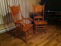 Wooden Chairs - $25 each