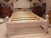 Wooden single bed frame -3ft