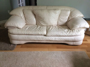 Sofa set. Couch and 2 single seats.