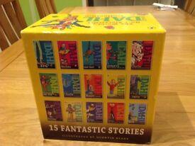 Ronald Dahl box set 15xbooks