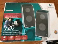 Logtech Laptop speakers for sale £10 Ono