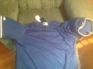Brand new authentic Blue Jays jersey men's large Kingston Kingston Area image 2