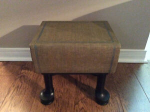 Footstool or small ottoman