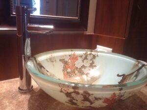 Lavabo  (vasque) et robinet