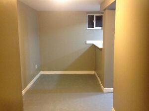 Basement bachelor apt. Available June 1st or 15th in family home