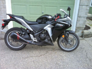 cbr250R with ABS , last price before storage