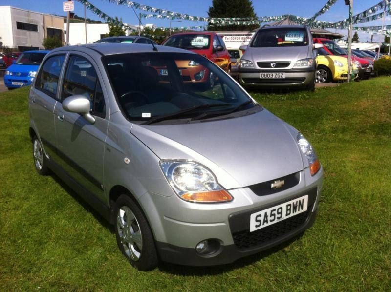 2009 chevrolet matiz 1 0 se in caerphilly gumtree. Black Bedroom Furniture Sets. Home Design Ideas