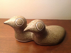 STRAWBERRY HILL POTTERY - Twin Baby Ducks