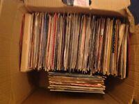 Large 7 inch vinyl job lot