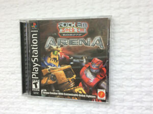 """Rock Em / Sock Em Robots"" ARENA (Playstation 1)  ~ mint !"