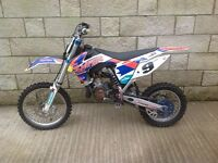 KTM 85 Small Wheel motocrosser