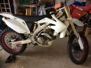 Restored 2006 Honda CRF 450 - with ownership