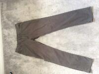 Ralph Lauren Trouses , Grey, 32W 34L