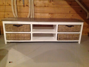 Tv stand from wicker emporium.