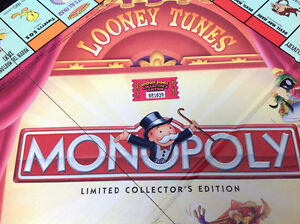Monopoly Looney Tunes (limited collectors edition) board game Oakville / Halton Region Toronto (GTA) image 3